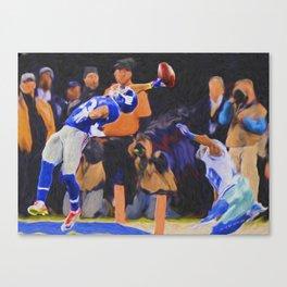 The Catch Canvas Print