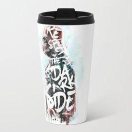Respect the Dark Side Vader Travel Mug