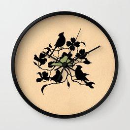 Virginia - State Papercut Print Wall Clock