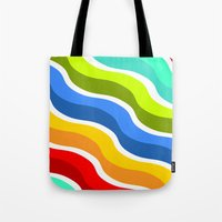 bacon Tote Bags featuring Bacon by Roberlan Borges