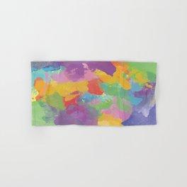 Watercolor Splatter Hand & Bath Towel