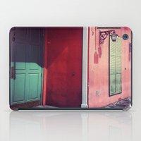 door iPad Cases featuring Door by wendygray