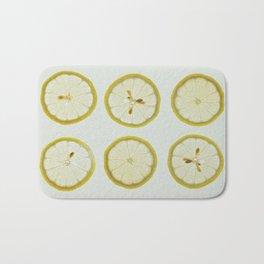 Lemon Square Bath Mat