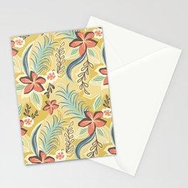 Flat botanical print Stationery Cards