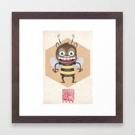 Benjemin the Bear Framed Art Print