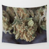 medical Wall Tapestries featuring Medical Marijuana Deep Sleep by BudProducts.us
