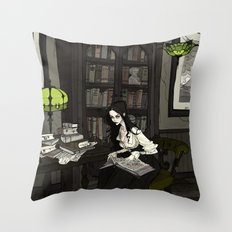 Asenath Throw Pillow