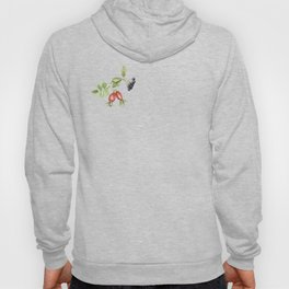 rosehip, chokeberries and teasel II Hoody