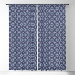 China Blue Blackout Curtain