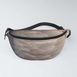 Soft light through the feathers Fanny Pack