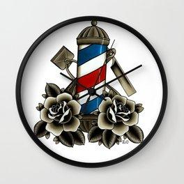 Barber's Life Wall Clock