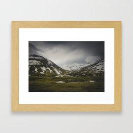 Rugged Lands Framed Art Print