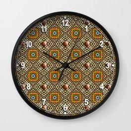 Odo Pattern Wall Clock