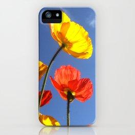 Happy Poppies iPhone Case