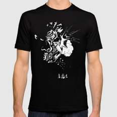 Ink Entanglement Mens Fitted Tee MEDIUM Black
