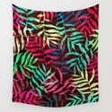Watercolor Tropical Palm Leaves IV by uniqued