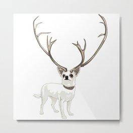 The Chihuahualope Metal Print