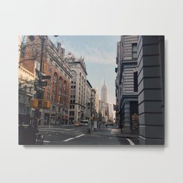 NYC Early Morning Metal Print