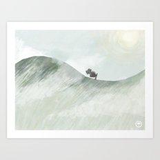 Trek Art Print