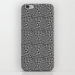 Symetric triangle 12-vichy, gingham,strip,triangle,geometric, sober,tartan,mandala iPhone Skin