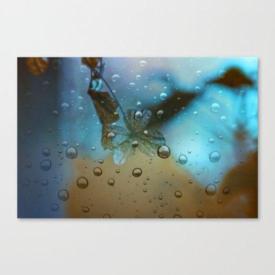 Rain Drops Keep Fallin Canvas Print