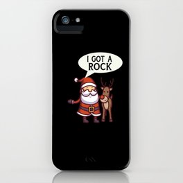 Funny Christmas iPhone Case