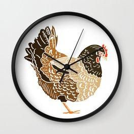 Three French Hens Wall Clock