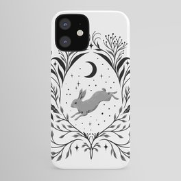 Happy Easter -Black and White iPhone Case
