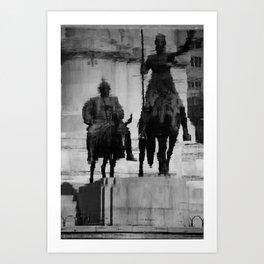 Don Quixote of La Mancha Art Print