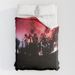 Intense mountain. Comforters