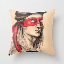 Raph TMNT Throw Pillow