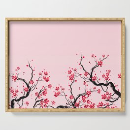 Cherry Blossom Serving Tray