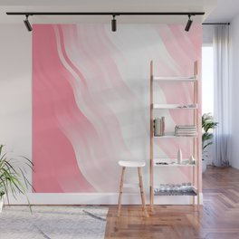 wavy lines pattern pw Wall Mural