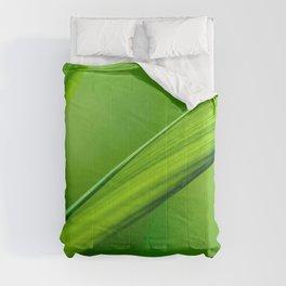 green nature leaves plants water drops macro depth of field Comforters
