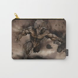 Triceratops human Carry-All Pouch