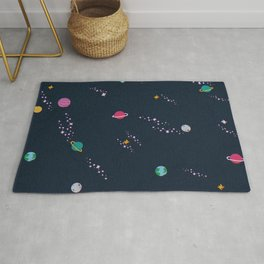 Lost in Space Pattern Rug