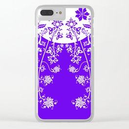 floral ornaments pattern wbp60 Clear iPhone Case