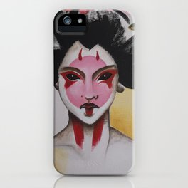 Ghost in the shell Geisha iPhone Case