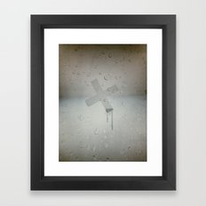 Drip Framed Art Print