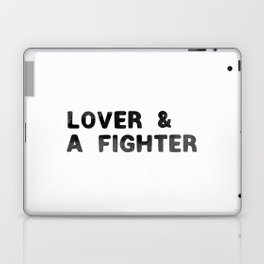 LOVER AND A FIGHTER - ink Laptop & iPad Skin