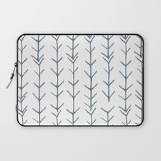 Twigs and branches freeform gray Laptop Sleeve