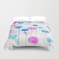 candy Duvet Covers featuring Candy by DuckyB