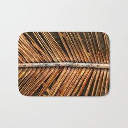 Dried Coconut Palm Bath Mat