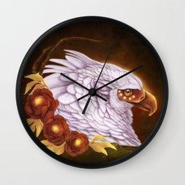 Griffin Queen Wall Clock