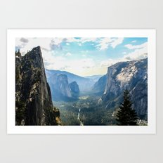 Sentinel's View Art Print