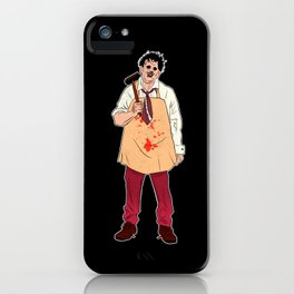 Leatherface - The Texas Chain Saw Massacre iPhone Case