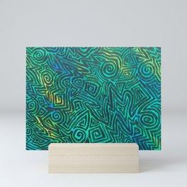 Green Trip Mini Art Print