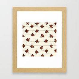 zuhur pearl Framed Art Print