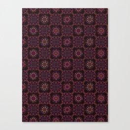 Quilt Patchwork Tile Pattern Canvas Print