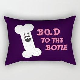 Bad to the Bone Rectangular Pillow